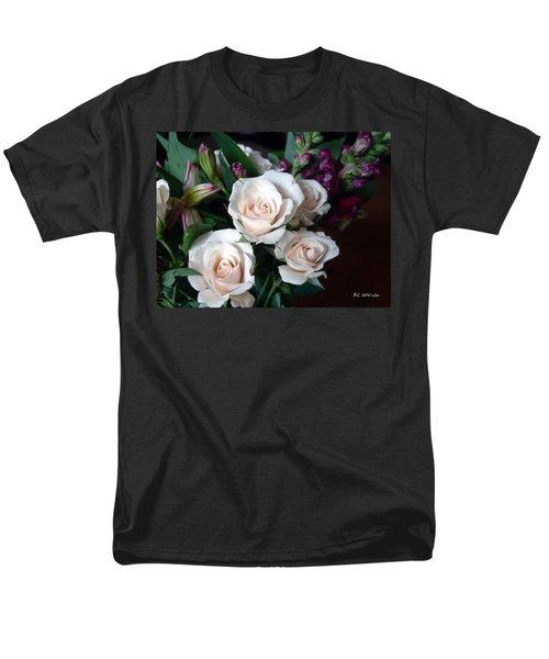 Men's T-Shirt  (Regular Fit) featuring the photograph Pardon My Blush by RC deWinter
