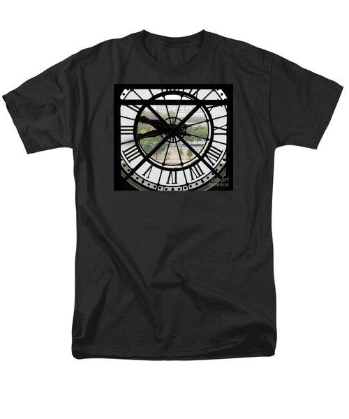 Paris Time Men's T-Shirt  (Regular Fit) by Ann Horn