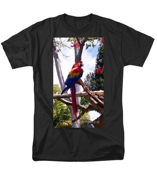 Parrot Men's T-Shirt  (Regular Fit) by Susan Garren