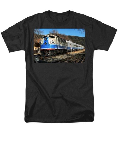 Men's T-Shirt  (Regular Fit) featuring the photograph Passenger Train by Michael Gordon