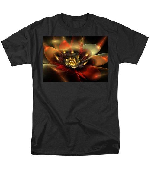 Men's T-Shirt  (Regular Fit) featuring the digital art Passion by Svetlana Nikolova