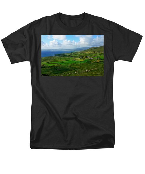 Patchwork Landscape Men's T-Shirt  (Regular Fit)