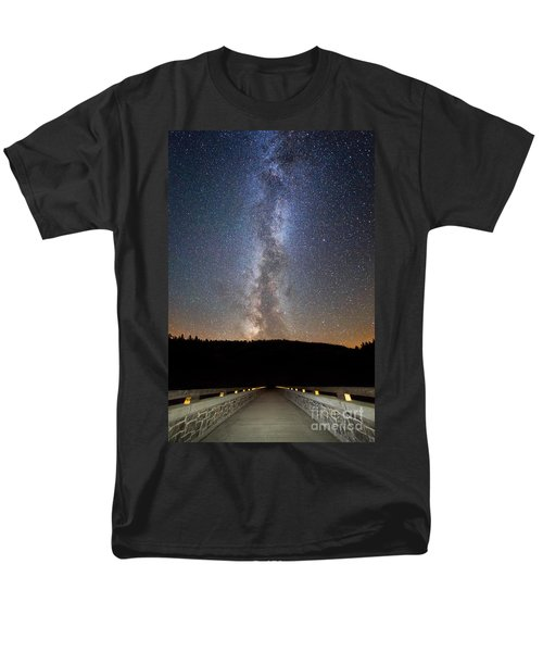 Path To Our Galaxy   Men's T-Shirt  (Regular Fit)