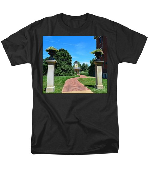 Pathway To The Observatory Men's T-Shirt  (Regular Fit) by Luther Fine Art