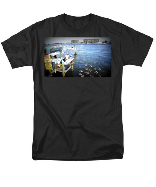 Men's T-Shirt  (Regular Fit) featuring the photograph Patiently Waiting by Laurie Perry