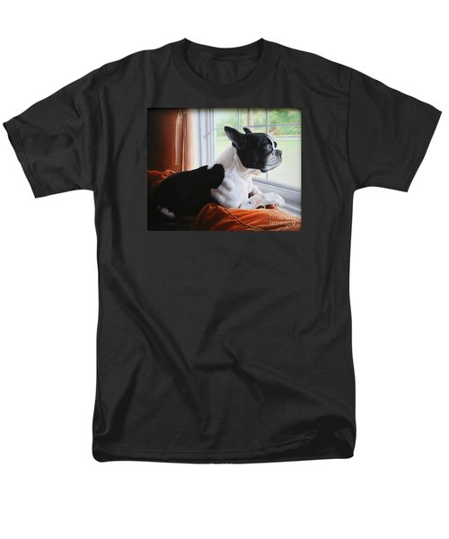 Patiently Waiting Men's T-Shirt  (Regular Fit) by Mike Ivey