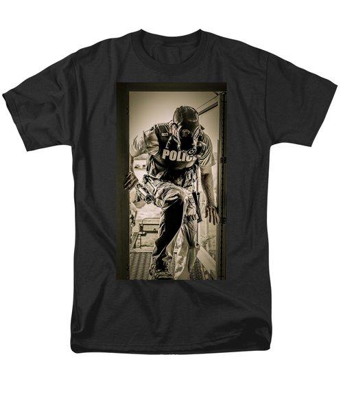 Patriot3 Second Floor Entry Men's T-Shirt  (Regular Fit) by David Morefield