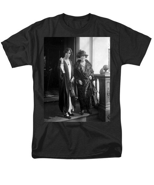 Men's T-Shirt  (Regular Fit) featuring the photograph Paul & Belmont, 1923 by Granger