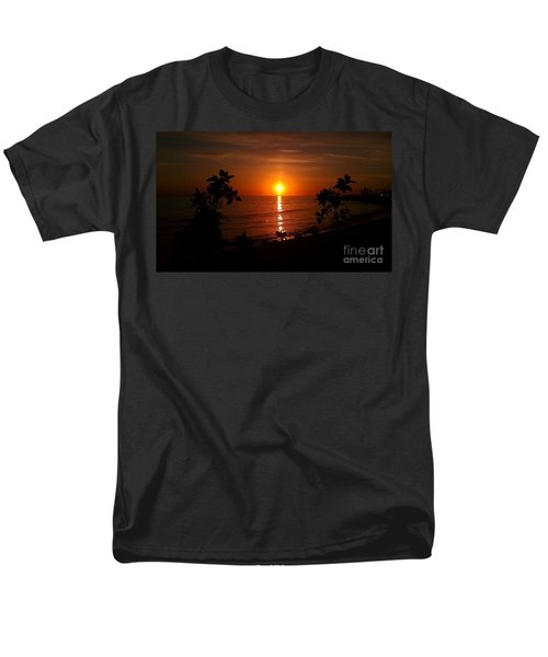 Peace At The Beach Men's T-Shirt  (Regular Fit)