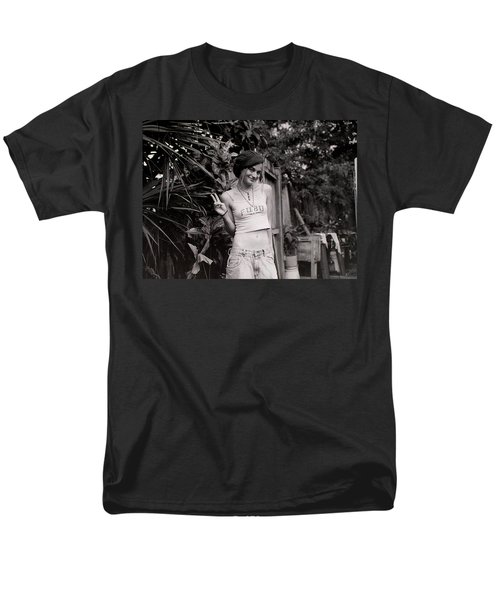 Men's T-Shirt  (Regular Fit) featuring the photograph Peace Chick by Greg Allore
