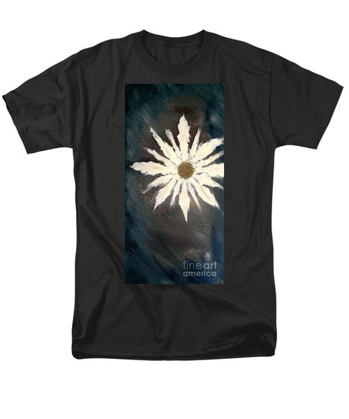 Men's T-Shirt  (Regular Fit) featuring the painting Peace Flower by Jacqueline McReynolds