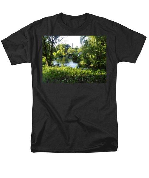 Peaceful Waters Men's T-Shirt  (Regular Fit) by Verana Stark