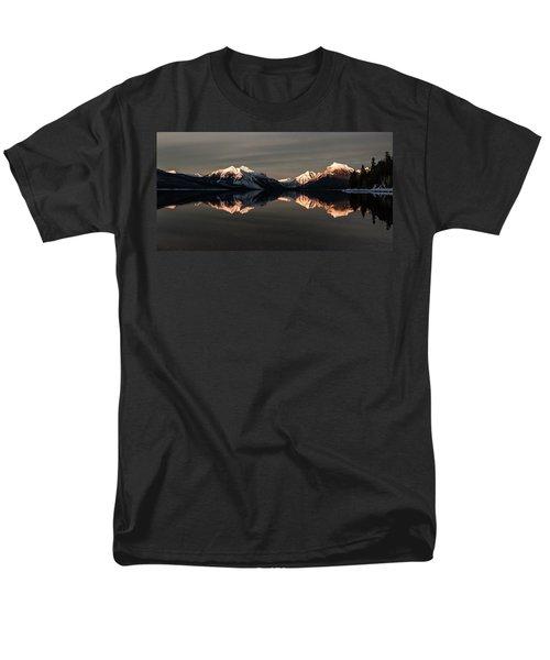 Peaks Men's T-Shirt  (Regular Fit)