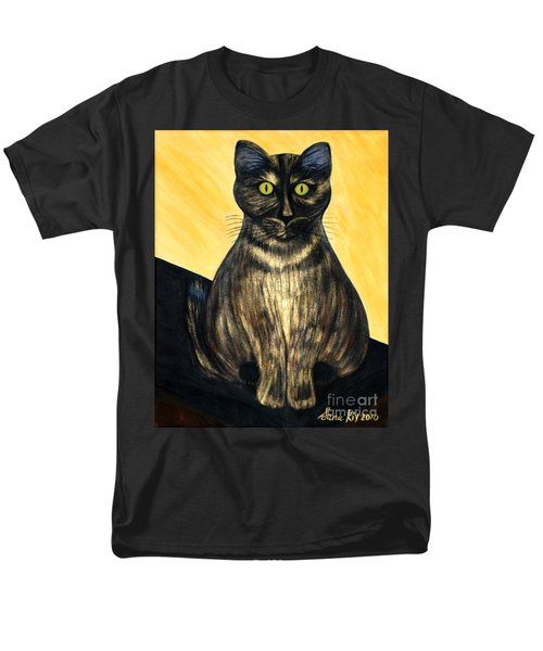 Men's T-Shirt  (Regular Fit) featuring the painting Pearl. Soul Collection by Oksana Semenchenko