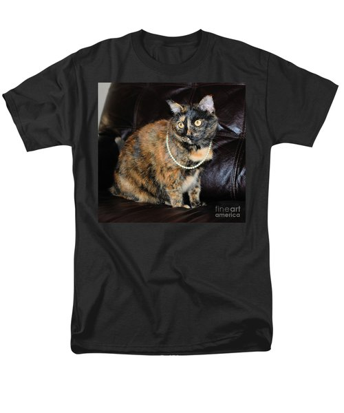 Men's T-Shirt  (Regular Fit) featuring the photograph Pearl With Pearls by Oksana Semenchenko