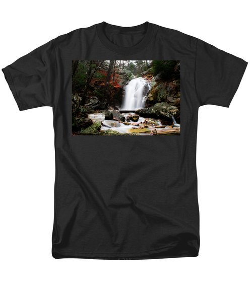 Peavine Falls In Autumn Men's T-Shirt  (Regular Fit) by Shelby  Young