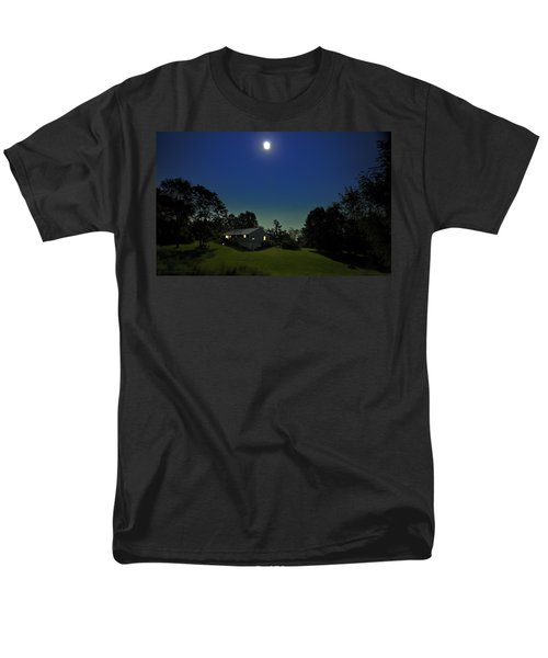 Men's T-Shirt  (Regular Fit) featuring the photograph Pegasus And Moon by Greg Reed