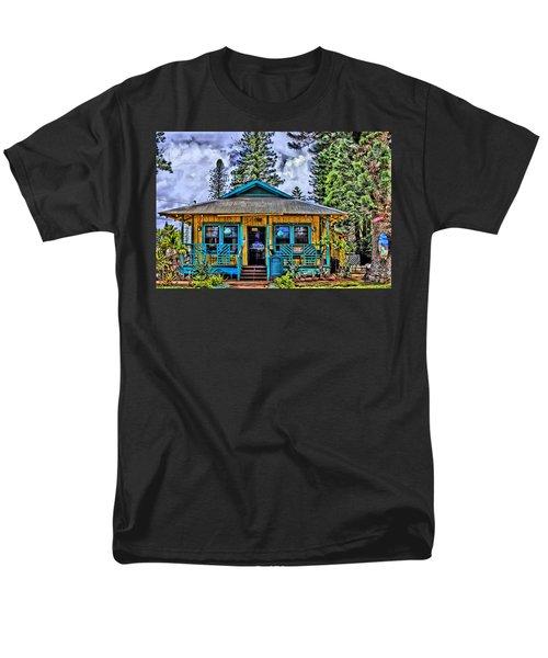 Pele's Lanai Island Hawaii Men's T-Shirt  (Regular Fit) by DJ Florek