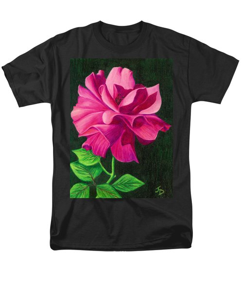 Pencil Rose Men's T-Shirt  (Regular Fit)