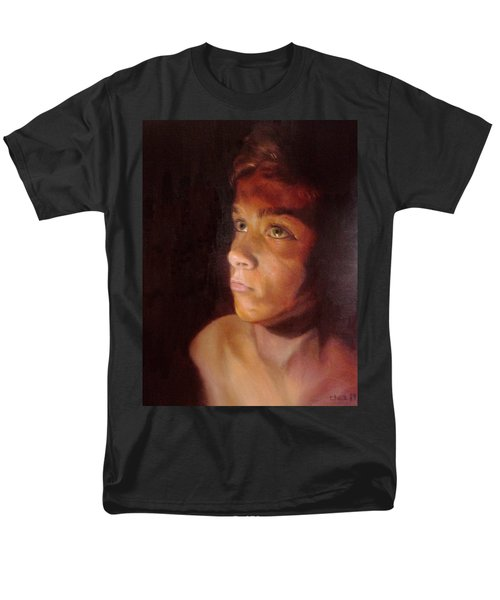 Men's T-Shirt  (Regular Fit) featuring the painting Penumbra by Cherise Foster