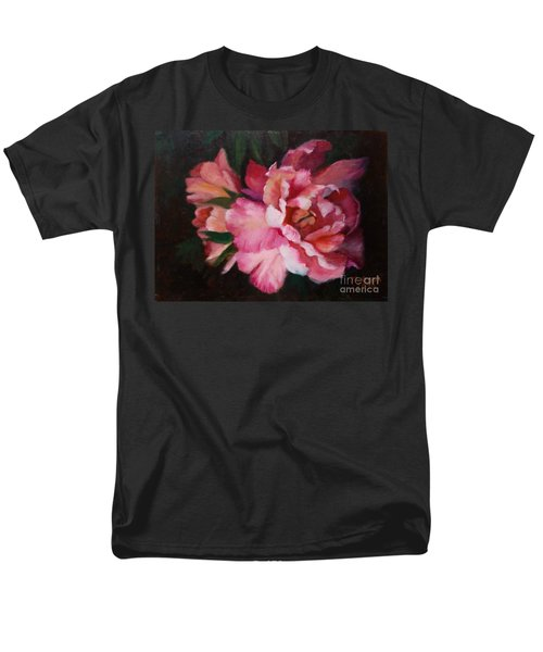 Peonies No 8 The Painting Men's T-Shirt  (Regular Fit) by Marlene Book