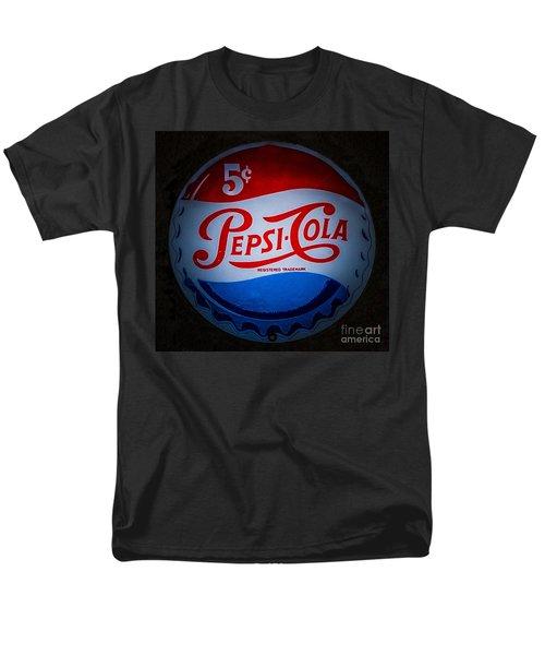 Pepsi Cap Sign Men's T-Shirt  (Regular Fit) by Mitch Shindelbower