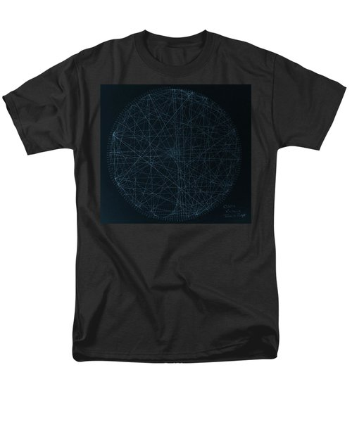 Men's T-Shirt  (Regular Fit) featuring the drawing Perfect Square by Jason Padgett