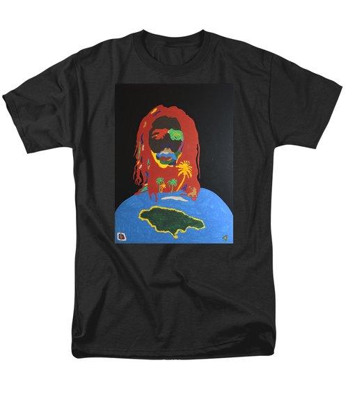 Peter Tosh Bush Doctor Men's T-Shirt  (Regular Fit) by Stormm Bradshaw