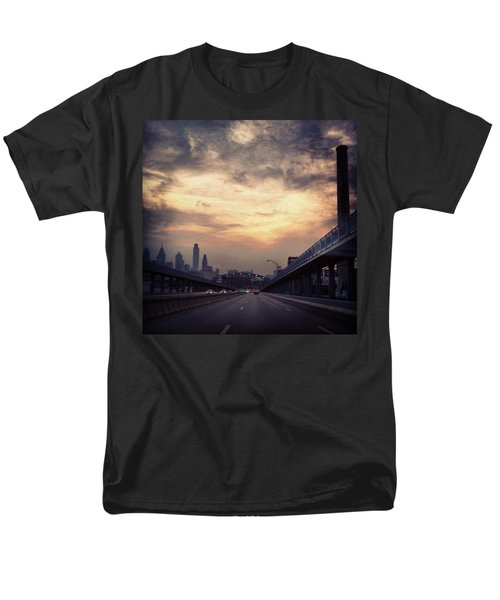 Philly Men's T-Shirt  (Regular Fit) by Katie Cupcakes