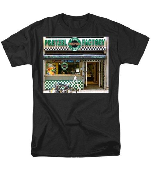 Philly Pretzel Factory Men's T-Shirt  (Regular Fit) by Ira Shander