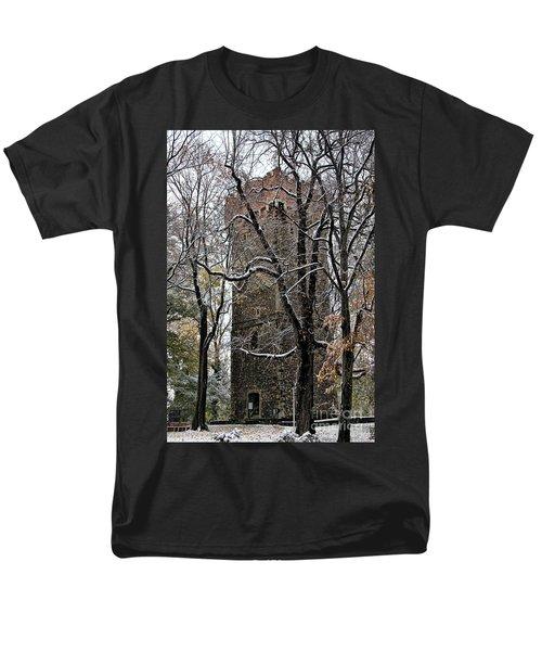 Piastowska Tower In Cieszyn Men's T-Shirt  (Regular Fit) by Mariola Bitner