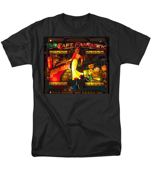 Pinball Machine Capt. Fantastic Men's T-Shirt  (Regular Fit) by Terry DeLuco