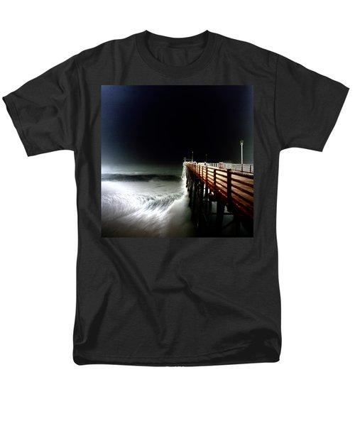 Pinhole Oceanside Pier Men's T-Shirt  (Regular Fit) by Hugh Smith