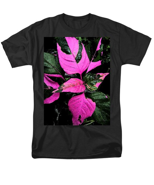 Men's T-Shirt  (Regular Fit) featuring the photograph Pink And Green by Aimee L Maher Photography and Art Visit ALMGallerydotcom