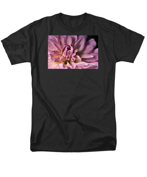 Pink Dahlia's Dream Men's T-Shirt  (Regular Fit) by Joy Watson