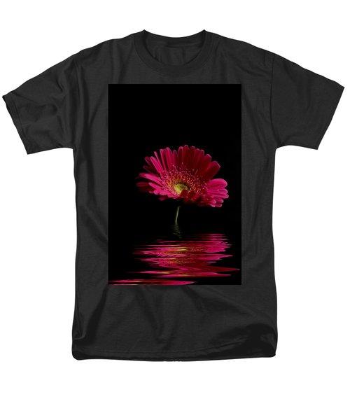 Pink Gerbera Flood 1 Men's T-Shirt  (Regular Fit)