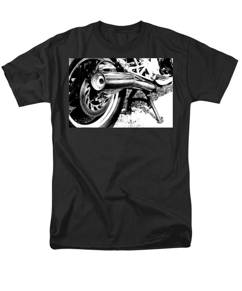 Pipe Black And White Men's T-Shirt  (Regular Fit) by David S Reynolds