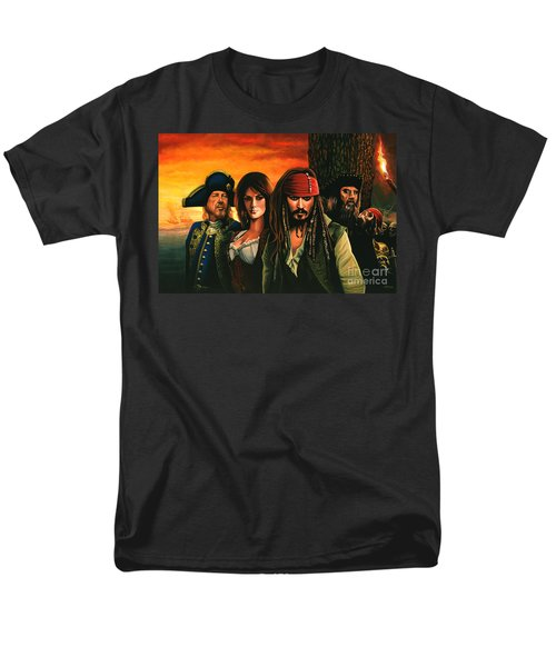 Pirates Of The Caribbean  Men's T-Shirt  (Regular Fit) by Paul Meijering