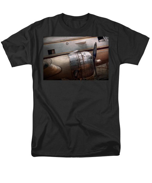 Plane - A Little Rough Around The Edges Men's T-Shirt  (Regular Fit) by Mike Savad