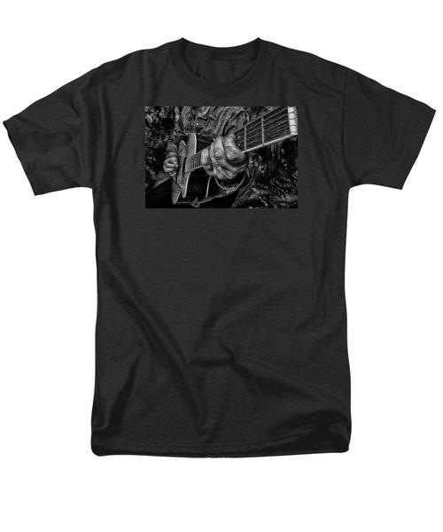 Playin The Blues Men's T-Shirt  (Regular Fit) by Kevin Cable