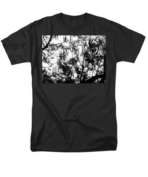 Men's T-Shirt  (Regular Fit) featuring the photograph Poinciana Lace by Amar Sheow