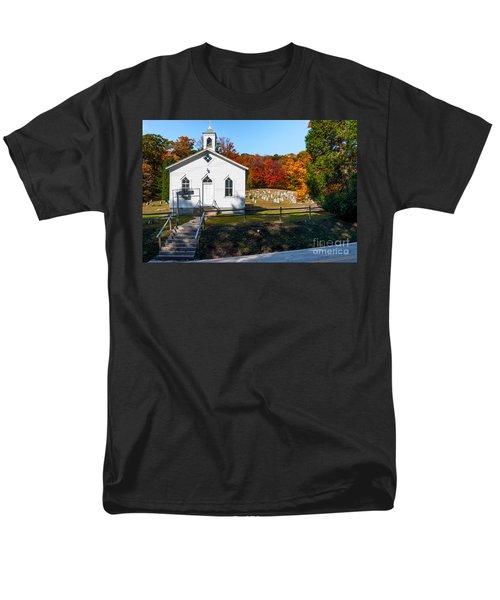 Point Mountain Community Church - Wv Men's T-Shirt  (Regular Fit) by Kathleen K Parker