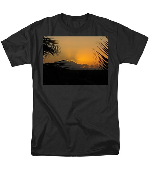 Ponce Sunrise Men's T-Shirt  (Regular Fit) by Daniel Sheldon
