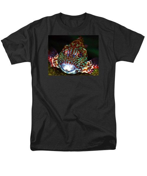 Poopaa Hawaiian Hawk Fish Men's T-Shirt  (Regular Fit) by Lehua Pekelo-Stearns