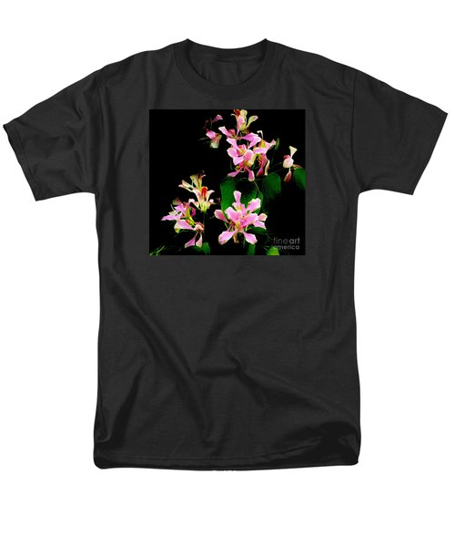 Poor Mans Orchid Men's T-Shirt  (Regular Fit) by Amar Sheow