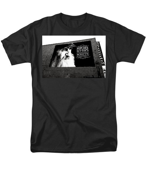 Popcorn Sutton's Tennessee White Whiskey Men's T-Shirt  (Regular Fit)