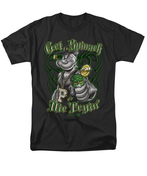 Popeye - Get Spinach Men's T-Shirt  (Regular Fit) by Brand A