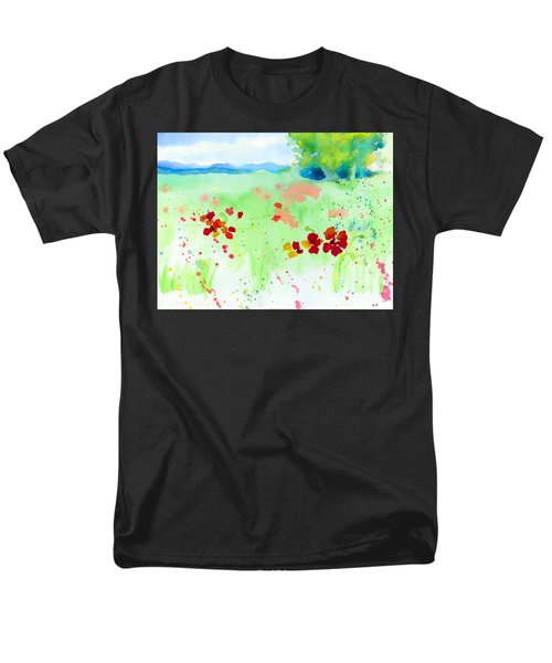 Poppy Passion Men's T-Shirt  (Regular Fit) by C Sitton