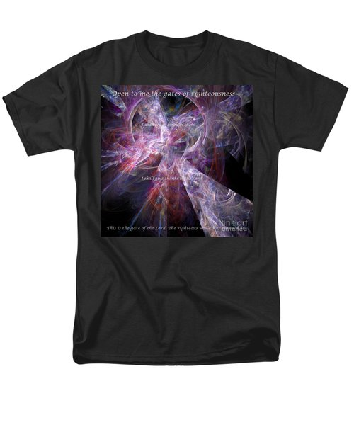 Men's T-Shirt  (Regular Fit) featuring the digital art Portal by Margie Chapman