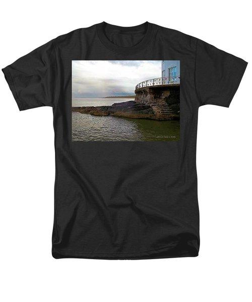 Portrush Northern Ireland Men's T-Shirt  (Regular Fit) by Tara Potts